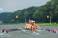 Amsterdam, NETHERLANDS, USA BM4X,  2011 FISA U23 World Rowing Championships, Wednesday, 20/07/2011 [Mandatory credit:  Intersport Images]