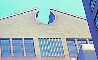 Philip Johnson: AT&T Building--Broken Pediment.  Photo '88.