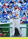 19 September 2012: Los Angeles Dodgers outfielder Matt Kemp in action against the Washington Nationals at Nationals Park in Washington, DC. The Nationals defeated the Dodgers 3-1 in the first game of their double-header. Mandatory Credit: Ed Wolfstein Photo