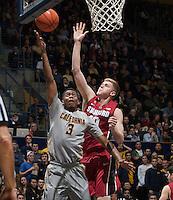 CAL Basketball vs Stanford, January 14, 2015