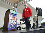 26 August 2007: Hall of Famer Efrain Chico Chacurian. The National Soccer Hall of Fame Induction Ceremony was held at the National Soccer Hall of Fame in Oneonta, New York.