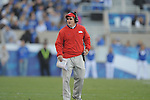 Ole Miss assistant coach Gunter Brewer vs. Kentucky at Commonwealth Stadium in Lexington, Ky. on Saturday, November 5, 2011. Kentucky won 30-13...