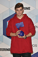 Martin Garrix, DJ, winner Best Electronic Act<br /> 2016 MTV EMAs in Ahoy Arena, Rotterdam, The Netherlands on November 06, 2016.<br /> CAP/PL<br /> &copy;Phil Loftus/Capital Pictures /MediaPunch ***NORTH AND SOUTH AMERICAS ONLY***