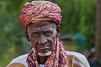 Portrait. Durbar in Argungu 2013. Kebbi State, Nigeria.