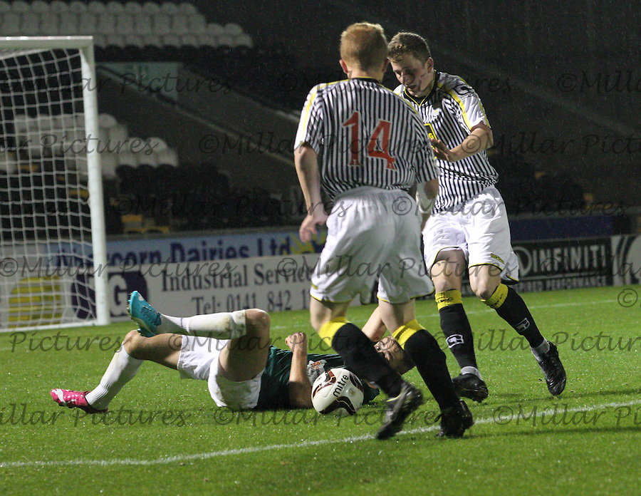 St Mirren v Hibernian, Development League 271014