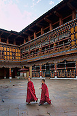 Paro Dzong Bhutan, where director Bernardo Bertolucci direct a part of The Last Emperor movie