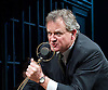 An Enemy of the People <br /> by Henrik Ibsen <br /> a version by Christopher Hampton <br /> at Chichester Festival Theatre, Chichester, West Sussex, Great Britain <br /> Press photocell <br /> 29th April 2016 <br /> <br /> Hugh Bonneville as Dr Tomas Stockmann <br /> <br /> <br /> <br /> <br /> <br /> Photograph by Elliott Franks <br /> Image licensed to Elliott Franks Photography Services