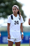 04 September 2016: Villanova's Sam Depinho. The University of North Carolina Tar Heels played the Villanova University Wildcats at Koskinen Stadium in Durham, North Carolina in a 2016 NCAA Division I Women's Soccer match. UNC won the game 2-0