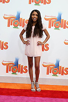 WESTWOOD, CA - OCTOBER 23: Teala Dunn at the premiere Of 20th Century Fox's 'Trolls' at Regency Village Theatre on October 23, 2016 in Westwood, California. Credit: David Edwards/MediaPunch