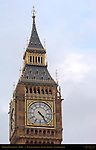 Elizabeth Clock Tower, Big Ben, Westminster Palace, London, England, UK
