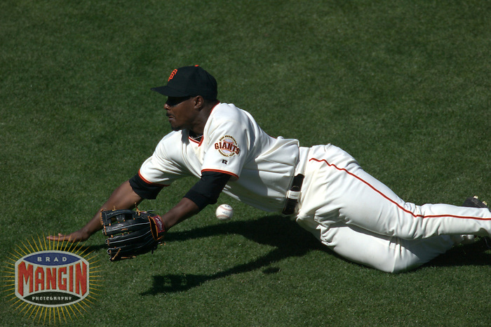 Jeffrey Hammonds. Florida Marlins vs San Francisco Giants. San Francisco, CA 5/2/2004 MANDATORY CREDIT: Brad Mangin