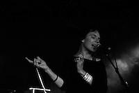 Pond performing at The Corner Hotel, Melbourne, 23 September 2012