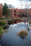 North America, United States, New Mexico, Taos. El Monte Sagrado eco-resort centered around the Sacred Circle.
