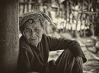A pleasant grandma in a fishing village approximately 50Kms north of Nha Trang.