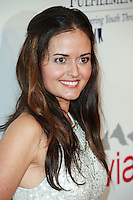 BEVERLY HILLS, CA, USA - OCTOBER 14: Danica McKellar arrives at the 20th Annual Fulfillment Fund Stars Benefit Gala held at The Beverly Hilton Hotel on October 14, 2014 in Beverly Hills, California, United States. (Photo by David Acosta/Celebrity Monitor)
