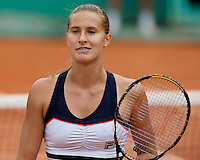 Polona Hercog (SLO) against Aravane Rezai (FRA) in the second round of the Women's Singles. Rezai beat Hercog 3-6 6-4 6-2..Tennis - French Open - Day 4 - Wed 27th May 2009 - Roland Garros - Paris - France..Frey Images, Barry House, 20-22 Worple Road, London, SW19 4DH.Tel - +44 20 8947 0100.Cell - +44 7843 383 012