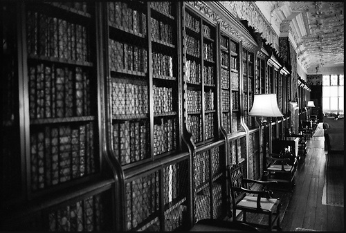 Library, Blickling Estate by Paul Cooklin