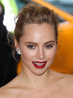 """NEW YORK CITY, NY, USA - MAY 05: Suki Waterhouse at the """"Charles James: Beyond Fashion"""" Costume Institute Gala held at the Metropolitan Museum of Art on May 5, 2014 in New York City, New York, United States. (Photo by Xavier Collin/Celebrity Monitor)"""