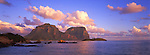 Sunset over Lord Howe Island