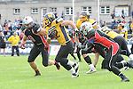 Fabien G&Auml;RTNER (22) (Munich Cowboys) enteilt Mirko HERRMANN (8) (Rhein-Neckar Bandits) im Spiel der GFL Munich Cowboys - Rhein Neckar Bandits.<br /> <br /> Foto &copy; P-I-X.org *** Foto ist honorarpflichtig! *** Auf Anfrage in hoeherer Qualitaet/Aufloesung Belegexemplar erbeten Veroeffentlichung ausschliesslich fuer journalistisch-publizistische Zwecke For editorial use only.