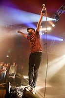 Die Hamburger Rockband Selig bei Kultur im Zelt, Braunschweig am 02.September 2014. Foto: Rüdiger Knuth
