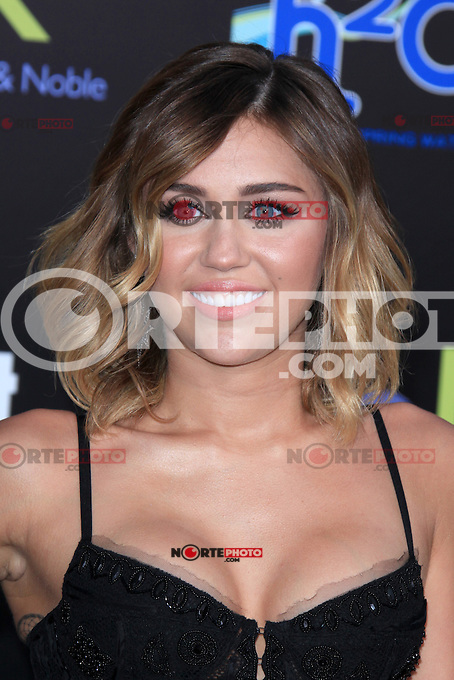 Miley Cyrus at the premiere of Lionsgate's 'The Hunger Games' at Nokia Theatre L.A. Live on March 12, 2012 in Los Angeles, California. © mpi28/MediaPunch Inc.