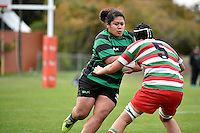 Action from the Women's Rugby - Hutt Old Boys Marist V Wainuiomata at Hutt Rec, Lower Hutt, New Zealand on Saturday 30 May 2015.<br /> Photo by Masanori Udagawa. <br /> www.photowellington.photoshelter.com.
