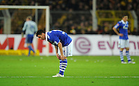 FUSSBALL   1. BUNDESLIGA   SAISON 2011/2012    14. SPIELTAG Borussia Dortmund - FC Schalke 04      26.11.2011 Alexander BAUMJOHANN (Schalke) enttaeuscht