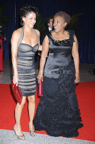 Gloria Ruben and CCH Pounder arrive at the White House Correspondents' Association Dinner in Washington, DC. May 1, 2010. Credit: Dennis Van Tine/MediaPunch