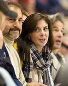 Bruce Palmieri, Tammy Palmieri - The University of Notre Dame Fighting Irish defeated the Boston University Terriers 3-0 on Tuesday, October 20, 2009, at Agganis Arena in Boston, Massachusetts.