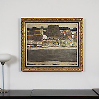 "Schiele: , Digital Print, Image Dims. 24.5"" x 30"", Framed Dims. 31"" x 37"""