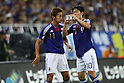 (L to R) Hiroshi Kiyotake (JPN), Shinji Kagawa (JPN), SEPTEMBER 2, 2011 - Football / Soccer : FIFA World Cup Brazil 2014 Asian Qualifier Third Round Group C match between Japan 1-0 North Korea at Saitama Stadium 2002, Saitama, Japan. (Photo by YUTAKA/AFLO SPORT) [1040]