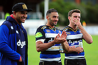 Dan Bowden of Bath Rugby looks on after the match. Pre-season friendly match, between the Scarlets and Bath Rugby on August 20, 2016 at Eirias Park in Colwyn Bay, Wales. Photo by: Patrick Khachfe / Onside Images