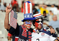 USA fans. Brazil defeated USA 3-0 during the FIFA Confederations Cup at Loftus Versfeld Stadium in Tshwane/Pretoria, South Africa on June 18, 2009.