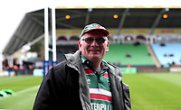 Fans before todays game<br /> <br /> Photographer Rachel Holborn/CameraSport<br /> <br /> Anglo-Welsh Cup Final - Exeter Chiefs v Leicester Tigers - Sunday 19th March 2017 - The Stoop - London<br /> <br /> World Copyright &copy; 2017 CameraSport. All rights reserved. 43 Linden Ave. Countesthorpe. Leicester. England. LE8 5PG - Tel: +44 (0) 116 277 4147 - admin@camerasport.com - www.camerasport.com
