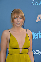 Bryce Dallas Howard at the 22nd Annual Critics' Choice Awards at Barker Hangar, Santa Monica Airport. <br /> December 11, 2016<br /> Picture: Paul Smith/Featureflash/SilverHub 0208 004 5359/ 07711 972644 Editors@silverhubmedia.com