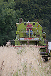 John Letts, Heritage grains<br /> <br /> John and his team have restored a  1970 Klaus Senator combine harvester which is well suited for harvesting small plots.