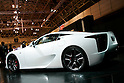 Lexus LF-Ch on display during the first press day for the 41th Tokyo Motor Show, 21 October 2009 in Tokyo (Japan). The TMS will be open for the public from 23 October 2007 to 4 November 2009.