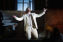 London, UK. 30.04.2014. English National Opera gives the world premiere of British composer Julian Anderson's first opera, THEBANS. Picture shows: Roland Wood (Oedipus). Photograph © Jane Hobson.