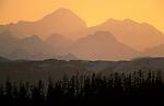 Mount Fairweather from Beardslee Island, Alaska