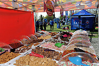 A general view of the Fine Fudge Sweets set-up. The Clash, Aviva Premiership match, between Bath Rugby and Leicester Tigers on April 8, 2017 at Twickenham Stadium in London, England. Photo by: Rob Munro / Onside Images