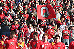 16 December 2007: Ohio State fans. The Wake Forest University Demon Deacons defeated the Ohio State Buckeyes 2-1 at SAS Stadium in Cary, North Carolina in the NCAA Division I Mens College Cup championship game.