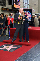 ©2003 KATHY HUTCHINS / HUTCHINS PHOTO.ANTHONY HOPKINS RECEIVES HIS STAR ON THE .HOLLYWOOD WALK OF FAME.SEPTEMBER 24, 2003..ANTHONY HOPKINS.JODIE FOSTER
