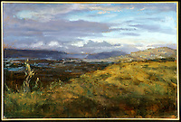 "Rolled Canvas Print: Mullholland Overlook by Hal Yaskulka, , 30"" x 40"""