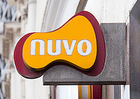 Nuvo, take away food shop sign - Aug 2013.
