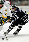 5 January 2007: University of New Hampshire forward Jacob Micflikier (9) from Winnipeg, MB, in action against the University of Vermont Catamounts at Gutterson Fieldhouse in Burlington, Vermont. The UNH Wildcats defeated Vermont 7-1 in front of a record setting 48th consecutive sellout at &quot;the Gut&quot;...Mandatory Photo Credit: Ed Wolfstein Photo.<br />