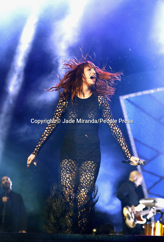 Reading, Berkshire - Florence and the Machine - Florence Welch - at the Reading Festival 2012 - August 25th 2012..Photo by Jade Miranda