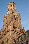 Belfort - Belfry, Market Place, Bruges, Belgium, Europe