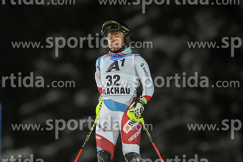 10.01.2017, Hermann Maier Weltcupstrecke, Flachau, AUT, FIS Weltcup Ski Alpin, Flachau, Slalom, Damen, 1. Lauf, im Bild Lara Gut (SUI) // Lara Gut of Switzerland in action during her 1st run of ladie's Slalom of FIS ski alpine world cup at the Hermann Maier Weltcupstrecke in Flachau, Austria on 2017/01/10. EXPA Pictures © 2017, PhotoCredit: EXPA/ Erich Spiess