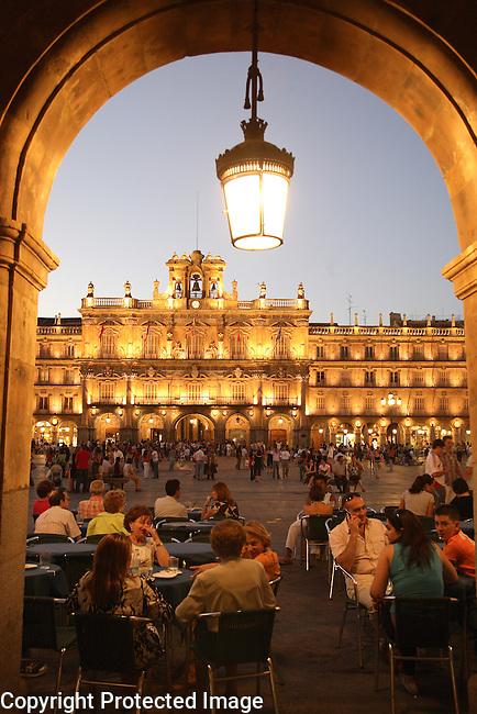 Plaza Mayor Square, Salamanca, Spain